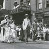 Forsyth County Centennial Parade on North Main Street, 1949.