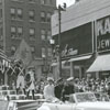 Forsyth County Centennial Parade on West Fourth Street, 1949.