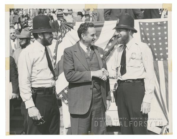 Forsyth County Centennial Celebration, 1949.