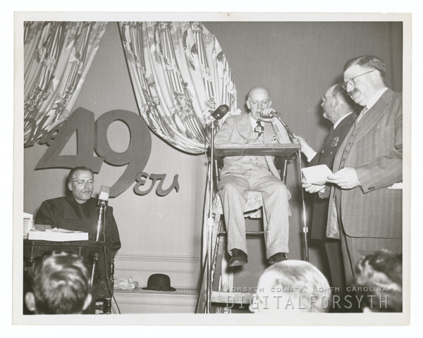 Forsyth County Centennial Celebration. Bushgrowers Banquet, 1949.
