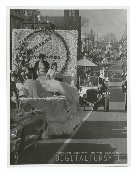 Winston-Salem Christmas Parade, 1962.