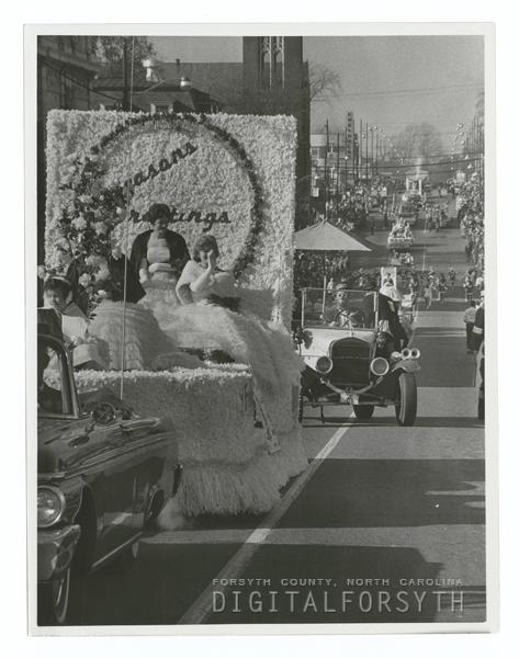 Winston-Salem Christmas Parade, 1962.