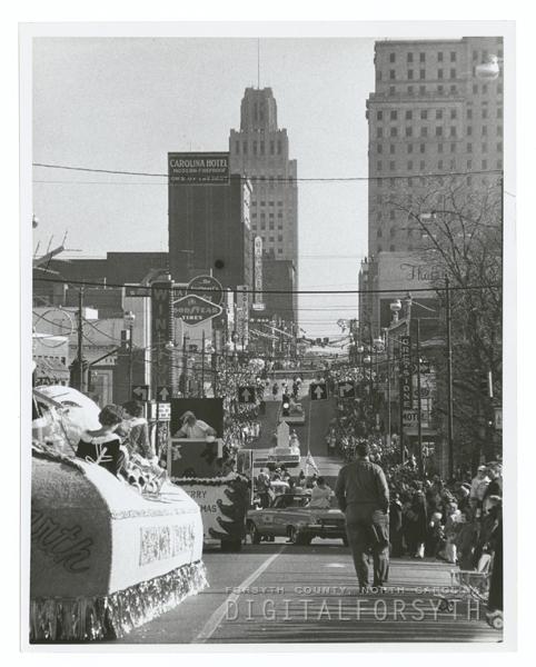 Home Organization Winston Salem: Winston-Salem Christmas Parade, 1962