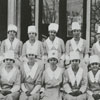 Winston-Salem High School domestic science club, 1918.