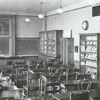 R. J. Reynolds High School science classroom, 1932.
