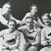R. J. Reynolds High School cheerleaders, 1932.