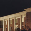 Bickett Hall at Night