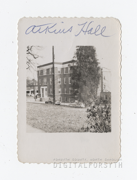 Atkins Hall, Women's Dormitory