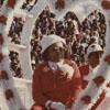 Miss Alumni 1976, Margaret Edmonds, on Homecoming Float at Stadium