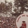 Miss 1981 Alumni, Sandra J. Deberry, on Homecoming Float