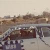 Wanda Dickerson, Miss Sociology Club, in Homecoming Parade