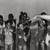 Children Do Swim Strokes during National Youth Sports Program