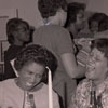 R. Greene, E. Williams at Pegram Hall Christmas Party