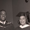 H. Lewis, M. Atkins, & F. L. Atkins at Convocation