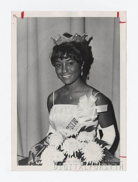 Miss Winston-Salem State College Eunice Bradley