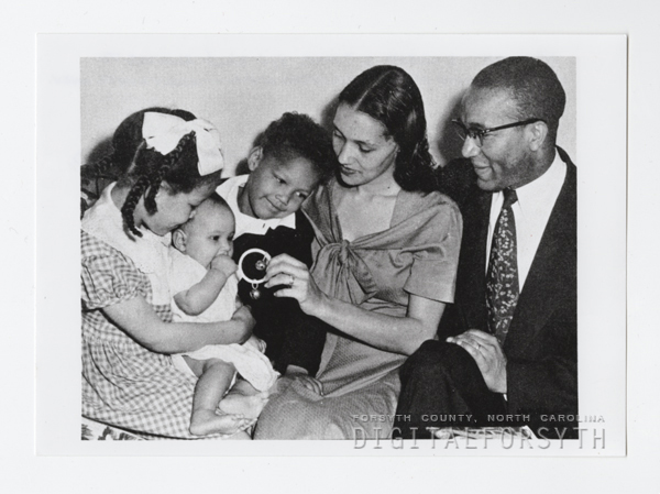 Edward O. Diggs and Family