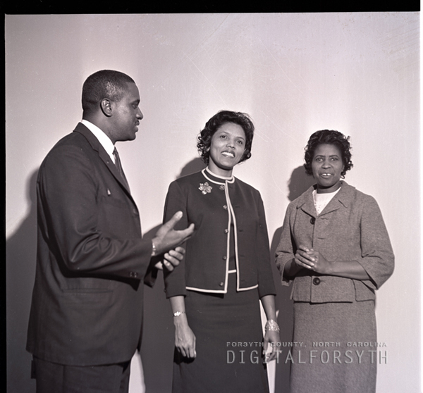 Rev Henry Lewis & Ruth Mosby