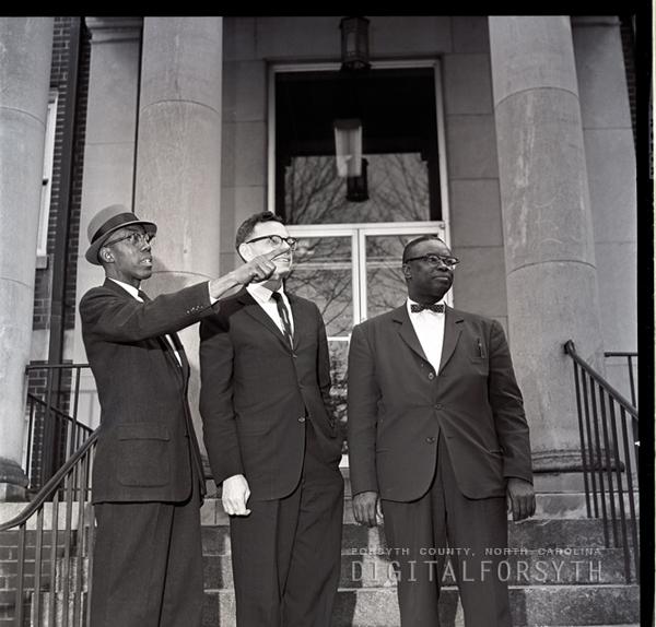 W. A. Blount, W.J. McKeffrey & L. Parker