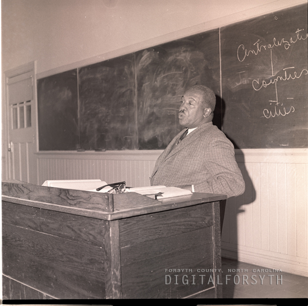 Dr. Charles U. DeBerry, Education Dept. Chairman