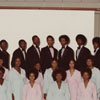 University Choir in Formal Dress