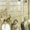 Slater Industrial Academy and State Normal School Postgraduate Department with Dr. and Mrs. S. G. Atkins