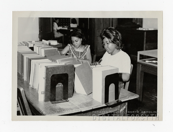 Students Working in Blair Hall