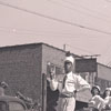 Band in Parade - WSTC Homecoming - 1945