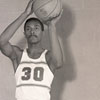 Men's Basketball Player #30