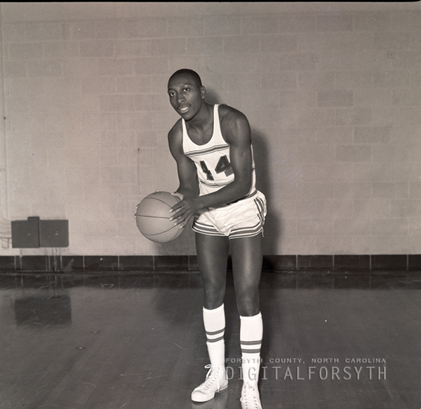 Men's Basketball Player Eugene Smiley